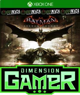 Batman Arkham Knight - Xbox One - No Codigo Off-line