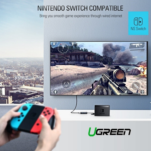 Adaptador Red 3.0 Ugreen. Nintendo Switch, Pc, Wii U, Tv Box