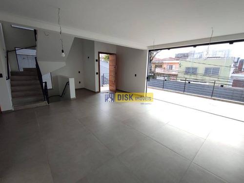 Imagem 1 de 22 de Sobrado Com 3 Dormitórios À Venda, 340 M² Por R$ 1.850.000,00 - Jardim Do Mar - São Bernardo Do Campo/sp - So0804