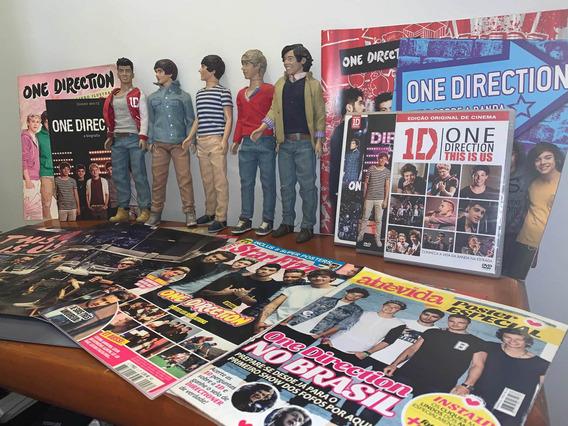 Bonecos One Direction + Posters, Álbum, Dvds E Bibliografia