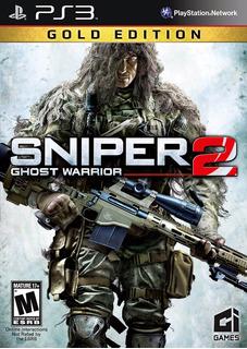 Sniper Ghost Warrior 2 Gold Edition Ps3 Digital Gcp