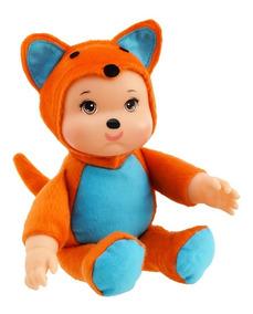 Raposinha Amiguinho Da Floresta - Anjo Brinquedos- 28cm