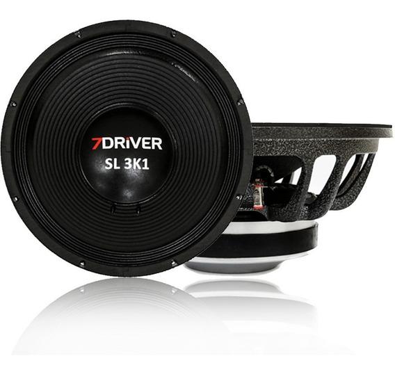 Alto Falante 7 Driver Sl 3k1 1550 Wrms 15 Polegadas 4/8 Ohms