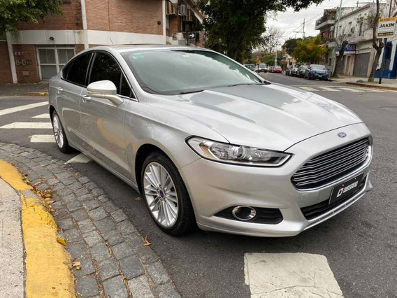 Ford Mondeo Se 2.0 Ecoboost At 2016 Gris Plata Dissano