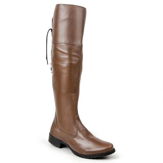 Bota Over The Knee Luma Ventura Linha Standard 001 Tan