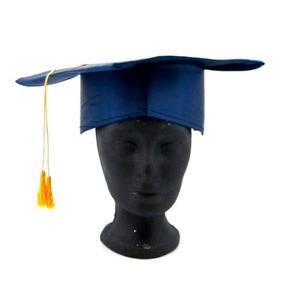 Graduacion Birrete Color Azul Marino
