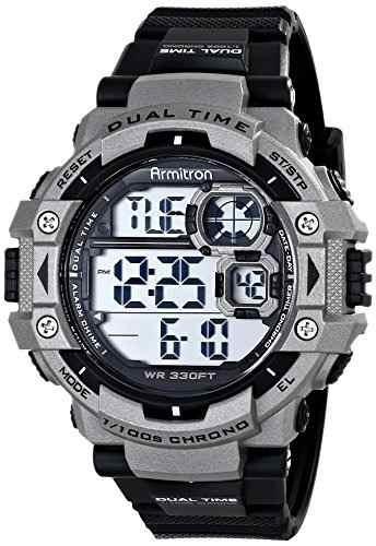 Armitron Sport 40/8309 - Reloj Cronografo Digital Para Hombr