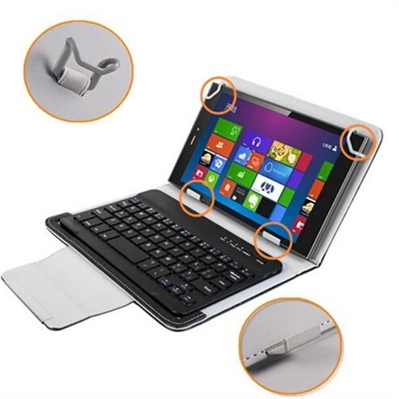 Teclado Bluetooth + Capa Case Universal Tablet Até 10.1