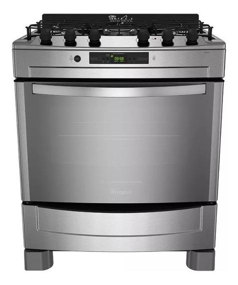 Cocina Whirlpool Wf976xc Multigas Con Grill 76cm Conveccion