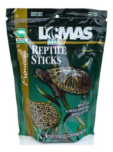 Imagen 1 de 6 de Alimento Tortugas Reptiles En Palitos Reptile Sticks 300g
