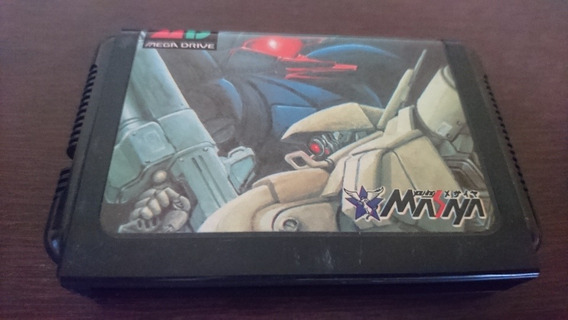 Assault Suit Leynos Original Pra Mega Drive/ Sega Genesis