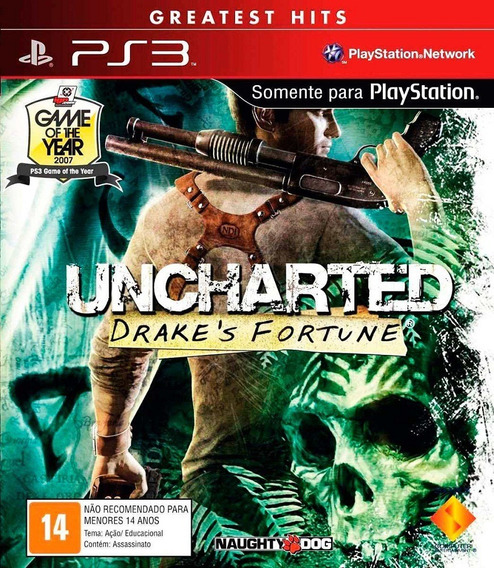 Uncharted 1 Ps3 Play 3 Dublado Portugues Portugal