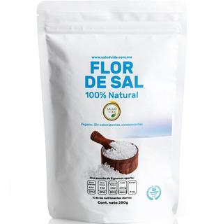 Flor De Sal Gourmet 250 Gramos 100% Natural