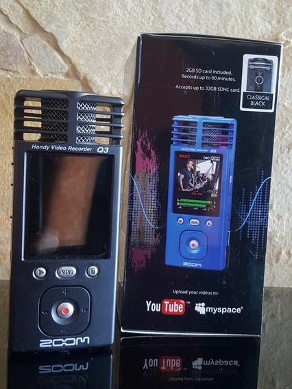 Videograbadora Zoom - Q3 Handy Video Recorder Zoom