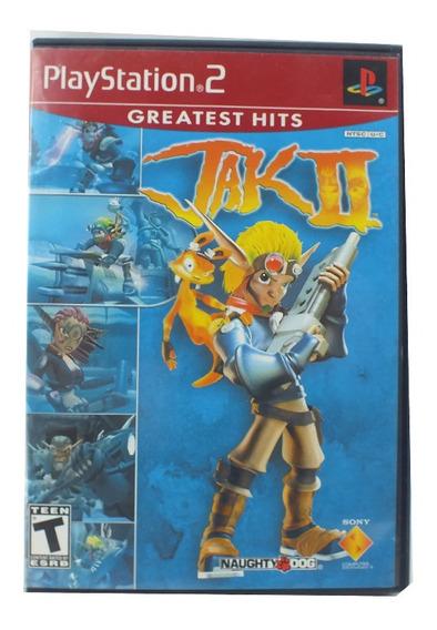 Jogo Para Ps2 Jak Ii Greatest Hits Nova Com Encarte A7665