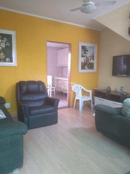 Sobrado De Condomínio Com 2 Dorms, Ponta Da Praia, Santos - R$ 380 Mil, Cod: 501 - V501