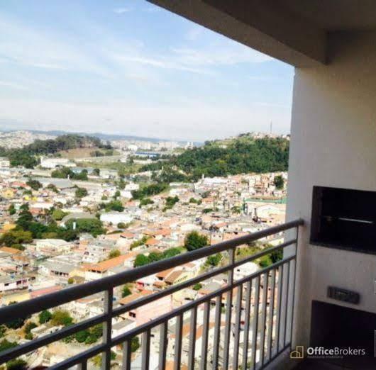 Apartamento Com 4 Dormitórios À Venda, 105 M² Por R$ 600.000 - Jardim Tupanci - Barueri/sp - Ap0668