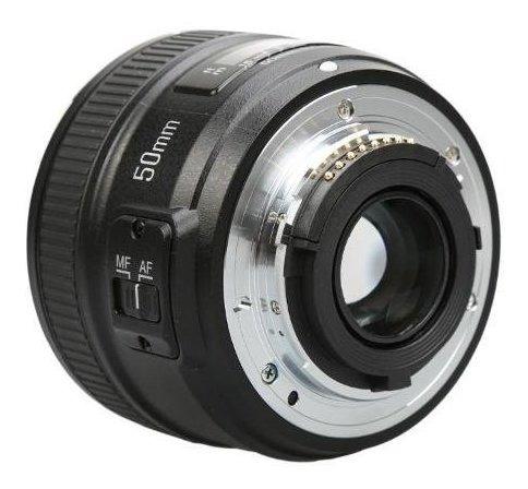 Lente Objetiva Yongnuo Yn50mm F1.8n Para Nikon