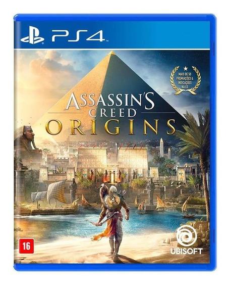 Assassins Creed Origins Ps4 Mídia Física Novo Lacrado