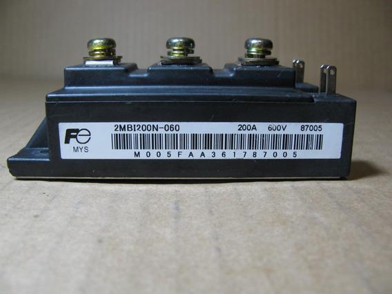 Transistor Igbt Módulo 2mbi200n-060 200a 600v Fujitsu