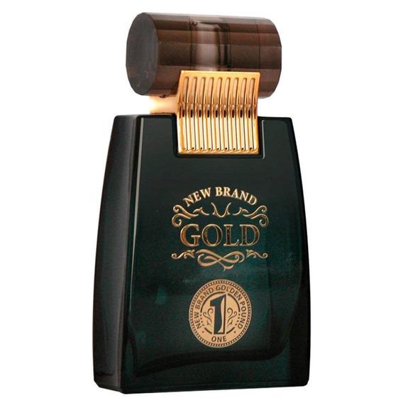 Perfume New Brand Gold For Men Edt 100ml