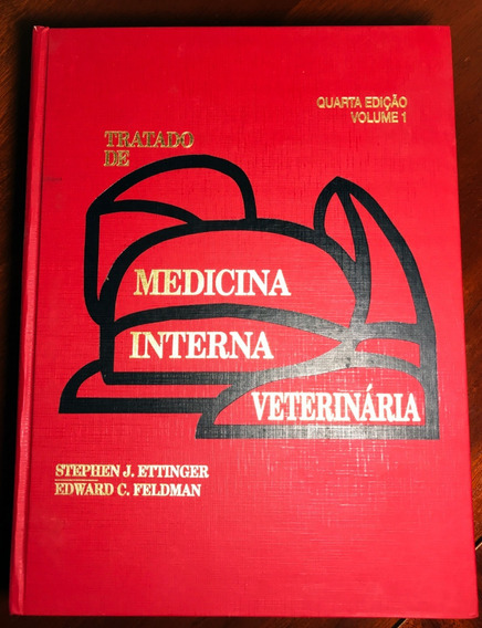 Livro Tratado De Medicina Interna Veterinária Vol. 1 E 2