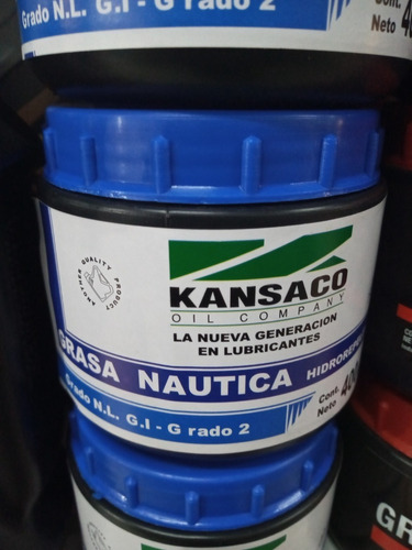Grasa Nautica Hidropelente Kansaco X 400gs Simil Yamalube