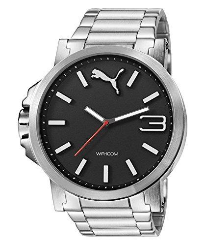 Reloj Puma Unisex Pu103461003 Ultrasize Metal Black Analog D