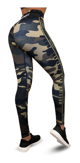 Leggins Deportivos Mujer Colombiano Push Up Fortia Fs-587