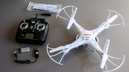 Drone Syma X5c-1 Fly More Combo Camara Bateria Cargador