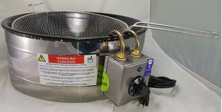Fritadeira Elétrica 3 Litros Com Termostato - Inox - 220v