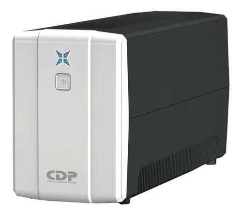 Imagen 1 de 2 de UPS Chicago Digital Power R-Series R-UPR 1008 1000VA entrada y salida de 120V CA negro y blanco