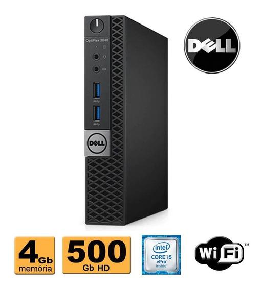 Mini Pc Dell 3040 Core I5 6500t 4gb 500gb Wifi Promoção