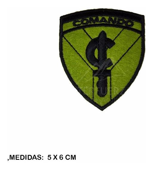 Escudo Comando Verde Parche Fuerzas Especiales Comandos