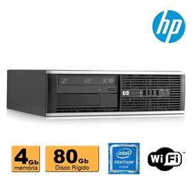 Pc Hp Compaq 6300 Intel G2020 2,90ghz 4gb Ddr3 Hd80 Wifi