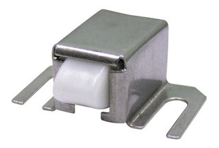 50 Resbalónes Cromado Metal Para Puertas Baño