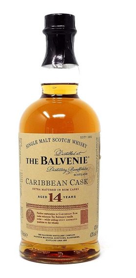 Whisky Balvenie 14 Años Caribbean Botella 700 Ml Bln