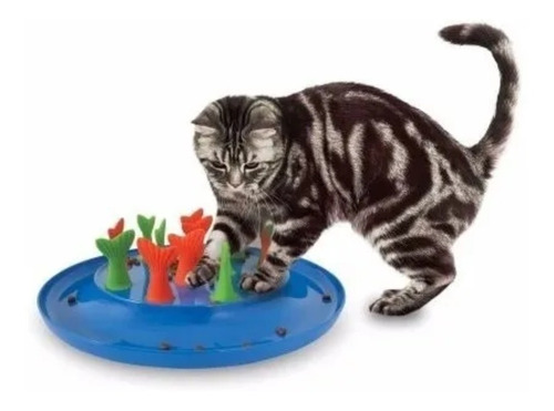 Comedero Lento Anti Ansiedad Para Gatos Juguete Interactivo