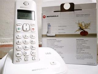 Telefono Digital Inalambrico Motorola Auri3000 Negro