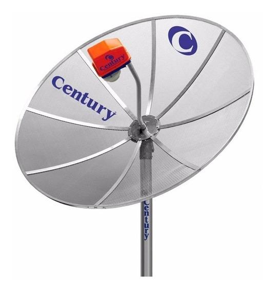 Antena Parabólica Century Midiabox 1,70 Mts Monoponto