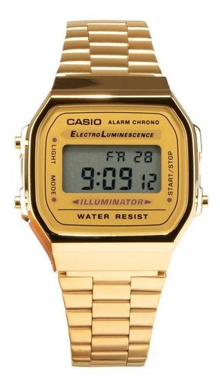 Reloj Casio Vintage-a168wg-9vt Dpstreet