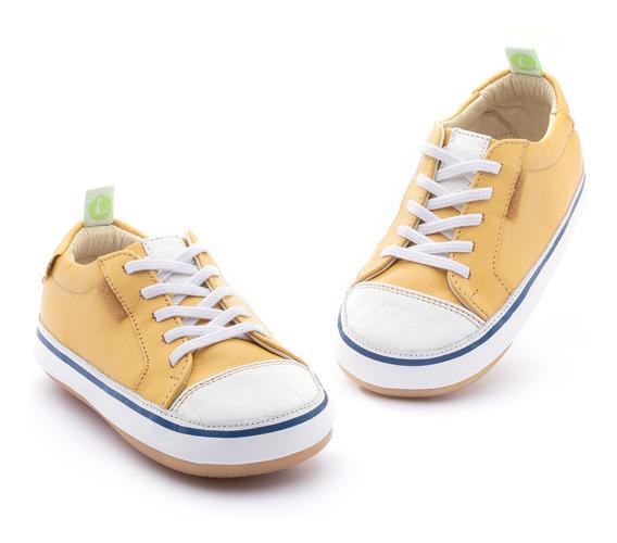 Tenis Bebe Tip Toey Joey Unissex Funky-amarelo- 37120