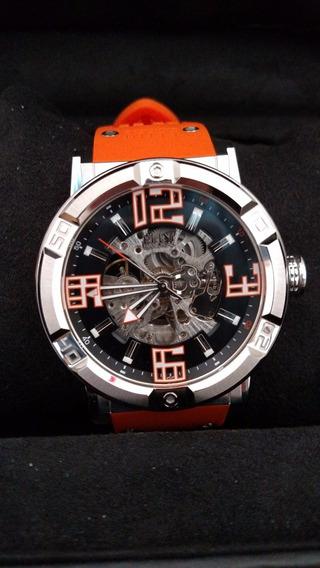 Relógio Automático Elini Barokas Spirit - Model 20025-01-oas