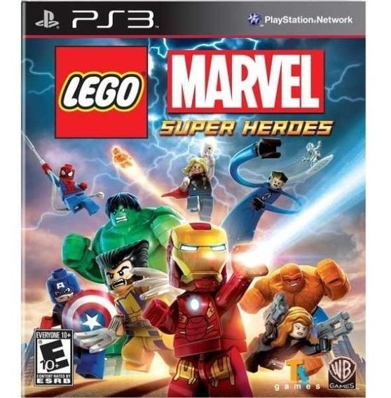 Lego Marvel Super Heroes Legendas Português Ps3 Psn Jogo Buy