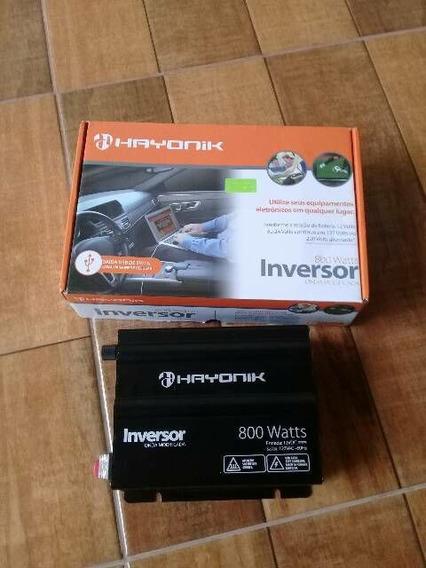 Inversor Hayonik 800w 12v / 127v