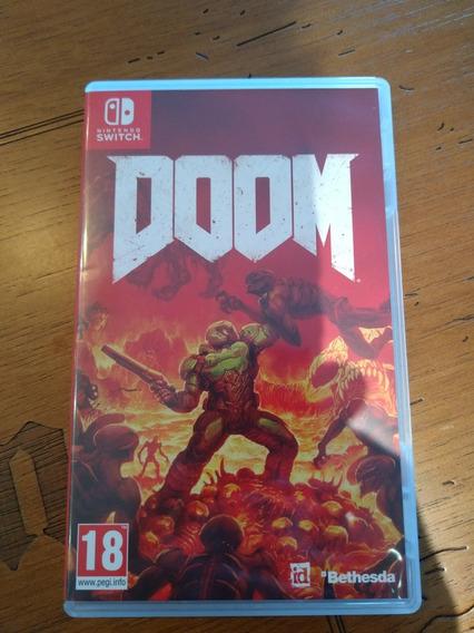 Doom Nintendo Switch Usado Estado Impecável