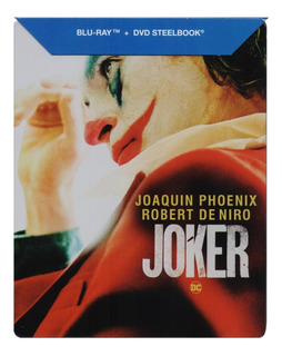Joker Guason Steelbook Dc Joaquin Phoenix Blu-ray + Dvd
