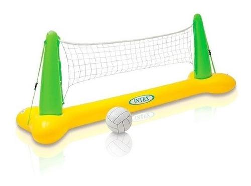 Juego Piscina Cancha De Voleibol Inflable  Intex 56508