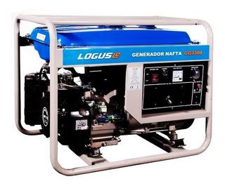 Generador Grupo Electrógeno Logus Gg3300 Arranque Electrico!