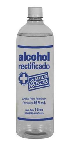 Alcohol Rectificado Graduación 95% Botella 1 Litro Ub